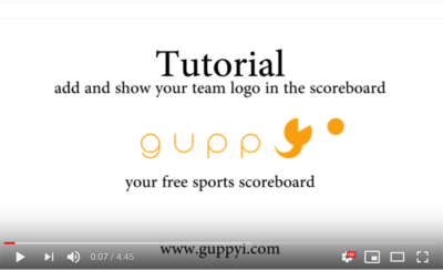 how to add team logo to the scoreboard