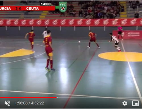 Football livestream with guppyi scoreboard from the Murcia region in Spain