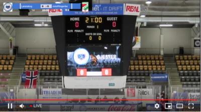 eishockey score bug