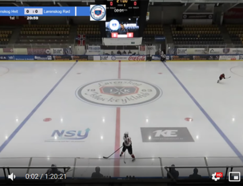 Lørenskog hvit U12- Lørenskog rød U12 – Eishockey livestream with guppyi scoreboard