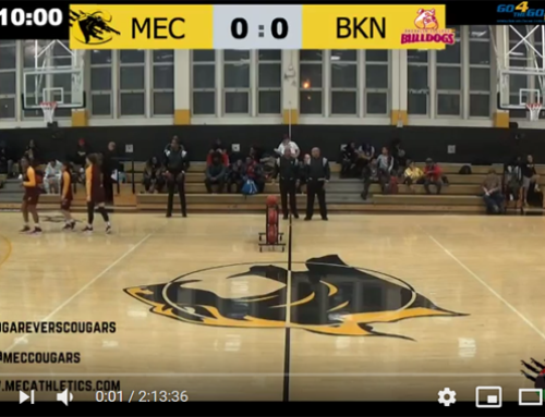 Medgar Evers College Athletics Live Stream with guppyi score bug