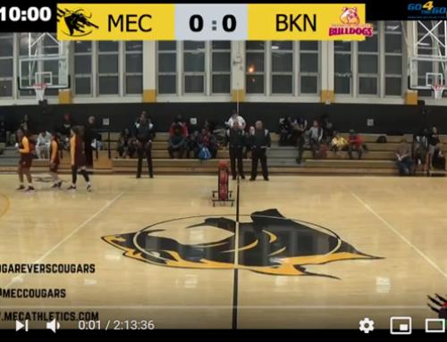 Medgar Evers College Athletics Live Stream with guppyi score bug