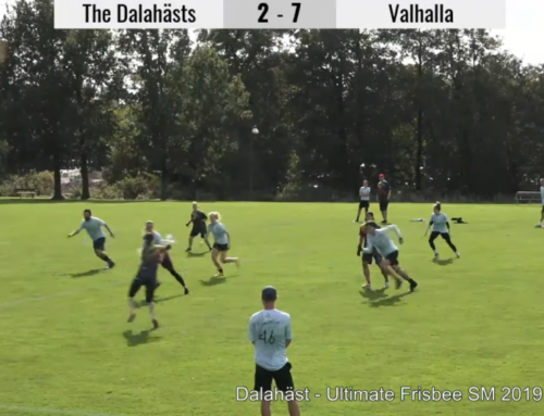 Ultimate Frisbee livestream with guppyi scoreboard –  SM Linköping 2019 – Dalahäst