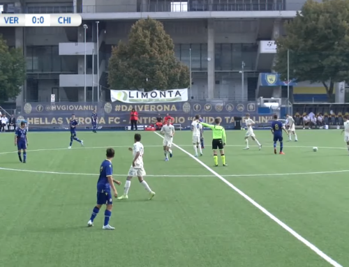 H. VERONA – CHIEVO – UNDER 15 – livestream with guppyi scoreboard