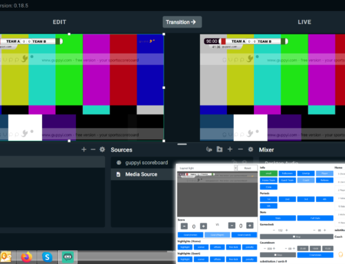 guppyi scorboard for Streamlabs OBS