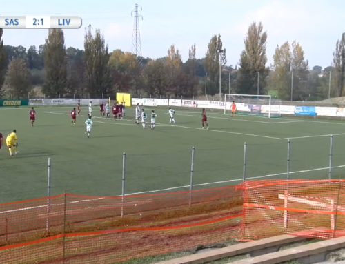 football live stream: SASSUOLO – LIVORNO – UNDER 15