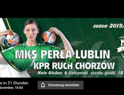 MKS Perła Lublin – KPR Ruch Chorzów – 06.11.2019 – 6 p.m.