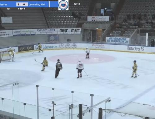 icehockey scoreboard – livestream Storhmar gul – Lørenskog hvit