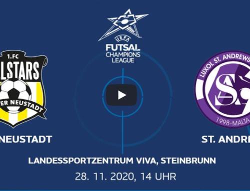 Futsal: Allstars Wr. Neustadt vs. Luxol St. Andrews